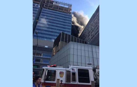 Incendio consume hospital en Nueva York