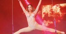Lis Vega publica por error foto desnuda