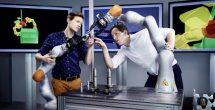Humanos y robots codo a codo