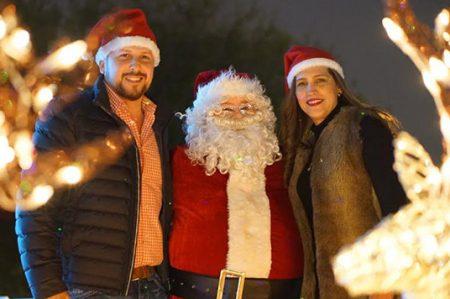 Guajardo Anzaldúa da mensaje de navidad a la comunidad riobravense