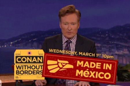 Conan O' Brien defiende lo hecho en México; Trump ataca a Madonna