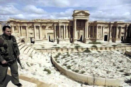 Estado Islámico ataca anfiteatro de Palmira