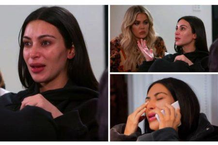 Kim Kardashian llora al recordar robo en París