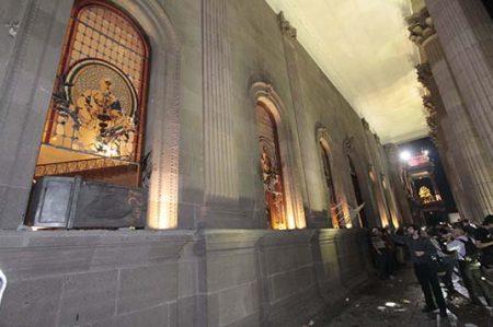 Destrucción de los vitrales de palacio; una pérdida para la historia