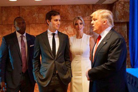 Trump nombra a su yerno como asesor principal