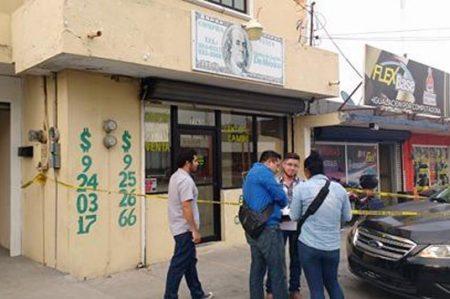 Asalto a casa de cambio deja tres muertos