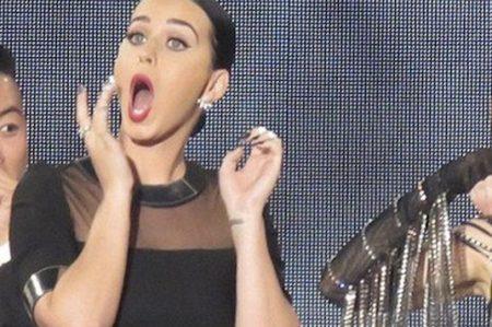 Katy Perry le hace 'fuchi' a ciertos hombres