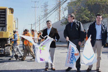 Arrancan Estado y Municipio pavimentación de 11 avenidas