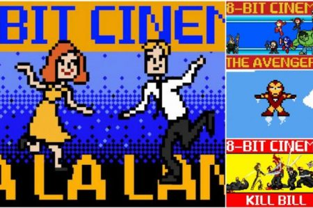 Grandes clásicos del cine en 8 bits