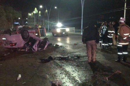 Choque deja tres muertos y un herido en Zacatecas