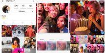 Comparte hasta diez fotos en Instagram en una sola publicación
