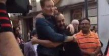 Conan O'Brien pasea por el Centro Histórico de la CDMX