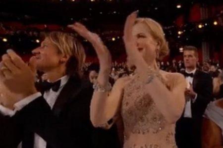 Critican a Nicole Kidman por su manera de aplaudir en los Oscar