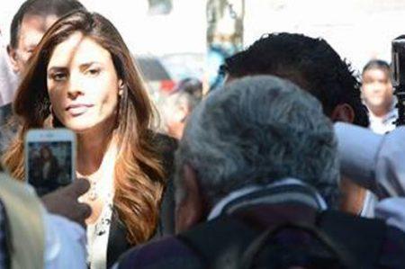 Finaliza audiencia de Gretta Salinas