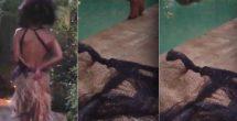 Halle Berry nada desnuda después de los Oscar