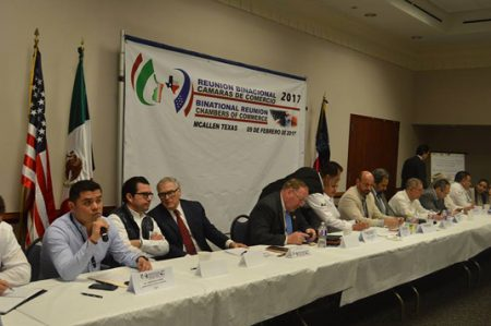 Cámaras de comercio de McAllen y Tamaulipas buscan fortalecer la economía
