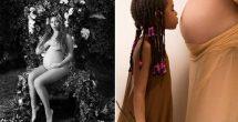 Beyoncé muestra desnuda su embarazo de gemelos