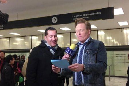 Presentador Conan O´Brien pide 'asilo' en México