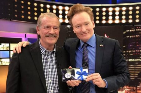 Conan O'Brien enmienda relación México-EU con comedia: Fox