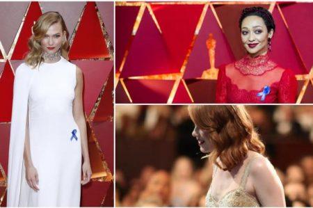 Los mensajes ocultos en los vestidos de los Oscar