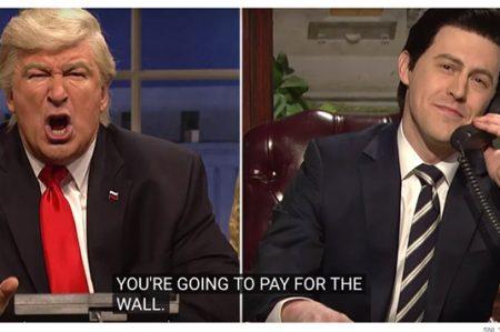 Parodia de Trump y Peña en 'Saturday Night Live' alcanza 8 millones de vistas (VIDEO)