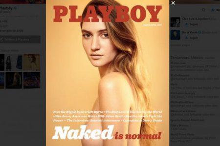 ¡Conejitas tapadas no! Playboy regresa a los desnudos