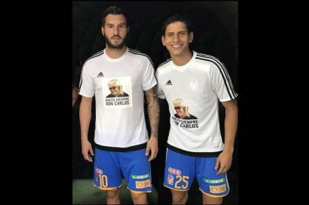 Los Tigres rinden homenaje a Carlos Miloc