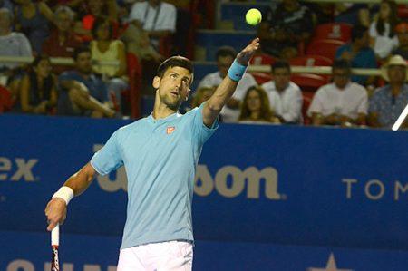 ¡Sorpresa! Djokovic queda fuera del Abierto Mexicano de Tenis