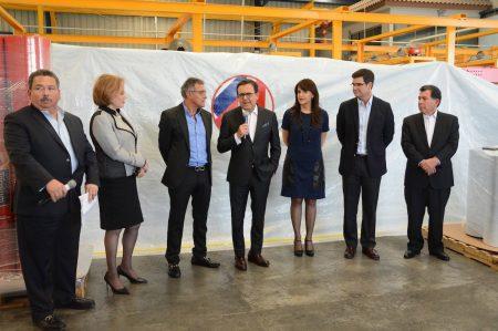 Inaugura Secretario de Economía nueva planta en NL