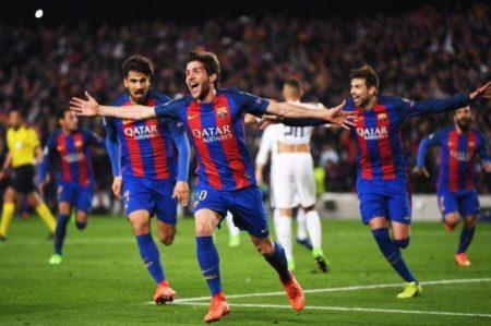 Vence 6-1 el Barsa al PSG y lo echa de la Champions