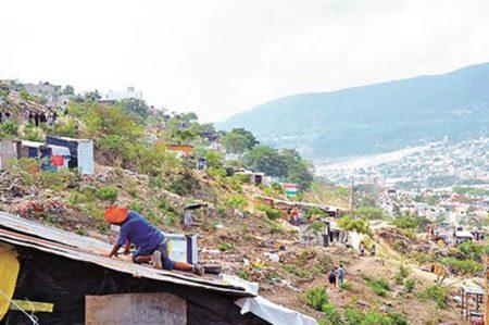Desalojan asentamiento ilegal en terrenos del Cañón del Sumidero