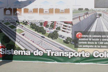 Hacienda entrega 445 mdp para obras de Metro en NL