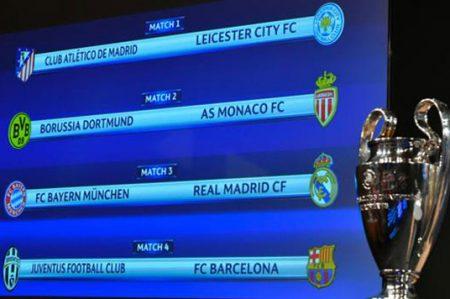 Madrid ante el Bayern en cuartos de final de la Champions League