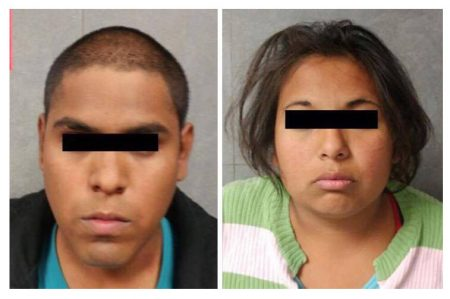 Pareja detenida por presunto abuso contra bebé