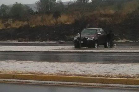 Reportan granizada en municipios de Zacatecas