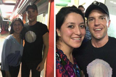 Captan a Brandon Flowers en taquería de Monterrey