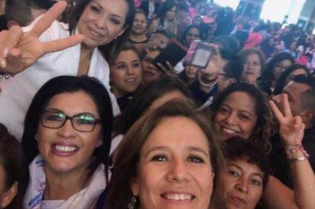 Zavala y Vázquez Mota critican corrupción y violencia en Edomex