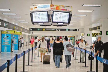 Sube autodeclaración de pasajeros en Terminal 2 del AICM