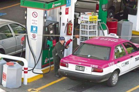 Bajan nuevamente estímulos fiscales a gasolinas