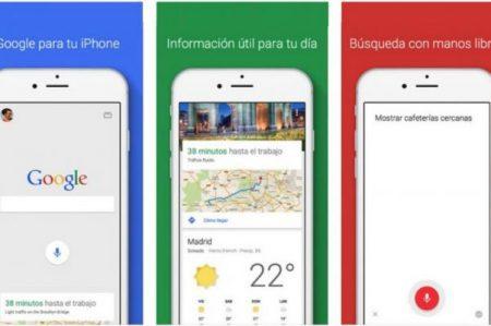 Google actualiza su app para iOS