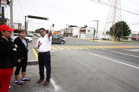 Entregan pavimento nuevo en la avenida Lerdo de Tejada de San Nicolás