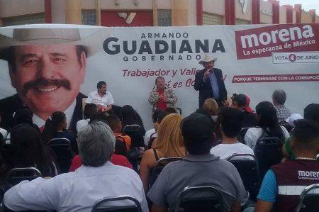 Llama Guadiana 'show' a salida de Moreira del PRI