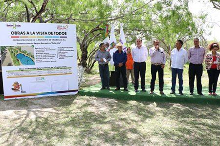 Anuncia Bronco obras de infraestructura en municipios del Noreste