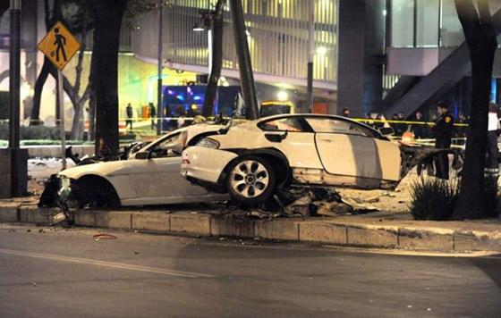 Identifican a conductor que chocó a 200 Km/h en Reforma