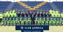 América se toma foto oficial con 'equipo completo'