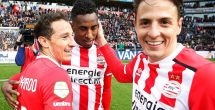 Andrés Guardado cumplió 100 partidos con el PSV