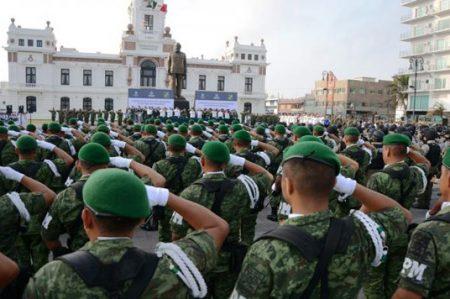 Arriban militares a Veracruz para reforzar operativo