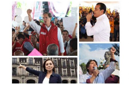 Candidatos en Edomex firman consulta revocatoria de mandato