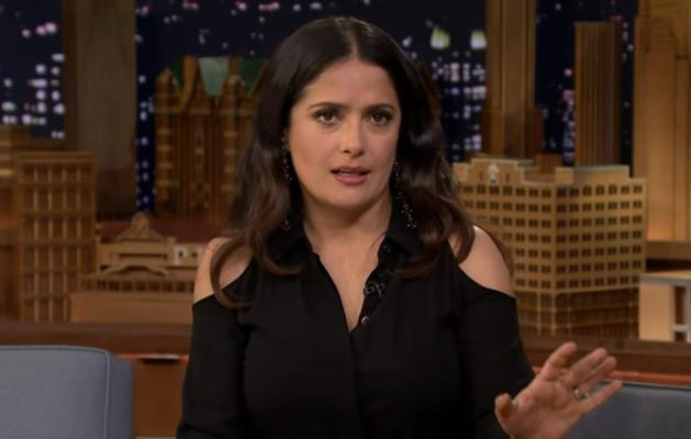 Cuando Salma Hayek pensó que su esposo le era infiel