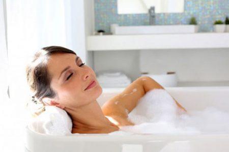Las calorías que quemas al tomar un baño caliente